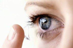 Come fa una lente ad andare dietro l'occhio